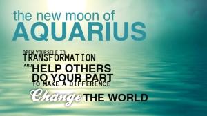 newmoon in aquarius