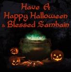 Happy Halloween! HappySamhain!