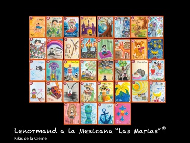 Lenormand a la Mexicana _Las Marias_ deck komplett