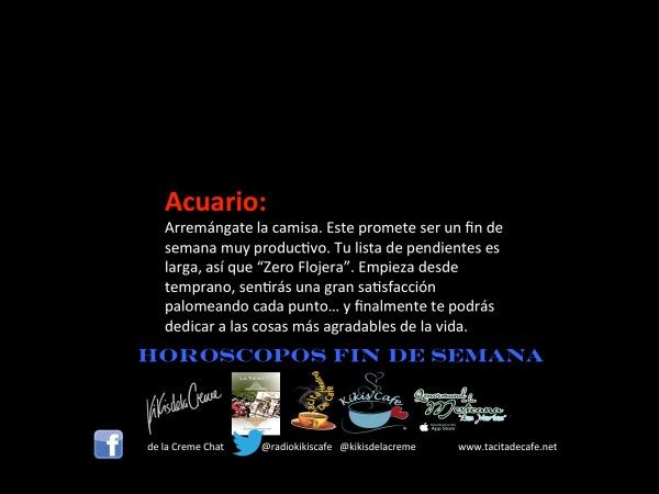 Acuario Finde 27