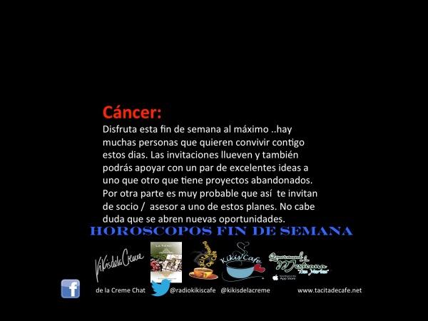 Cancer Finde 27